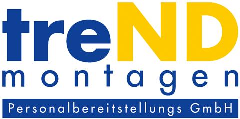 Logo treND Montagen Personalbereitstellungs GmbH